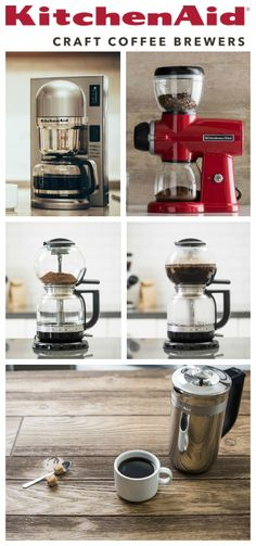 Looking for the perfect gift for a coffee connoisseur? You'll want to check out this Craft Coffee Brewer Gift Guide from KitchenAid®! AD #KACraftCoffee