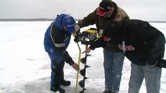 32 inches of ice is still on Lake Fishhook in Park Rapids.