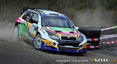 Martin Vlček; Jindřiška Žáková; Škoda Fabia WRC; Rocksteel Valašská Rally 2016 Rally Car, Cars, Vehicles, Rally, Autos, Car, Car, Automobile, Vehicle