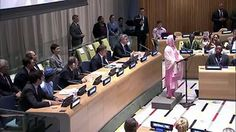 Malala Yousafzai UN Speech. If you need to be inspired, or if you don't, you should watch this.