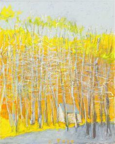 Wolf Kahn - Toward Yellow