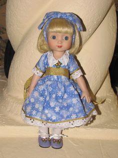 "Engelbreit, Tonner doll Ann Estelle ""Snowy Lace,"" 10''"