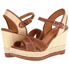 7fc27061de28 Clarks Amelia Air ( 120) ❤ liked on Polyvore Clark Wedges