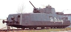 The Soviet military greatly valued the MBV-2 and the trains were frequently fitted with different types of guns. German armoured trains of World War II were often used almost as mobile forts on the Eastern Front. The Soviet trains (below) acted in more of a supporting role for army units, able to perform reconnaissance in an area and also attack any German infantry or tanks that they encountered.