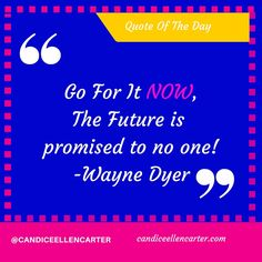 Create your own future, What is holding you back? http://candiceellencarter.com/?utm_content=buffer1eb4d&utm_medium=social&utm_source=pinterest.com&utm_campaign=buffer