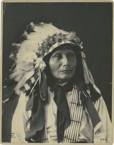 Sleeping Bear, Sioux. 1898.