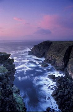 Point of Stoer at Sutherland, Scotland