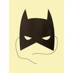 "Art Print ""Hero"" from KIND OF MINE* Kids Poster, Kid Spaces, Halloween, My Arts, Batman, Superhero, Art Prints, Illustration, Instagram Posts"