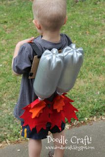 Doodle Craft...: kids projects - jet pack