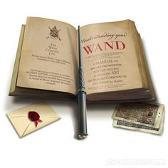 Magic Wand Remote Control - The Harry Potter Fan in me adores this.