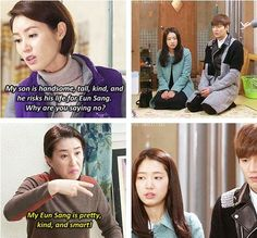 Heirs - they are both snarling...lol