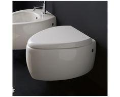 8604   Scarabeo Moia, Vegghengt toalett 560x400 mm, Hvit