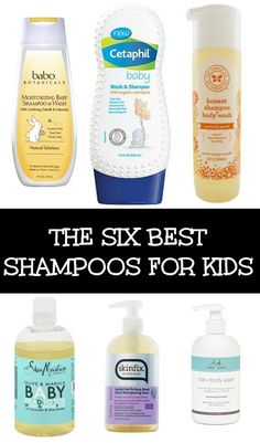 Six of the best shampoos and body washes for kids