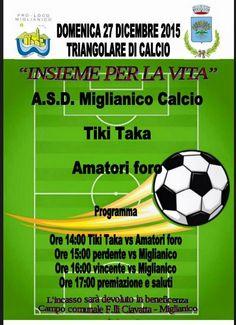 fLASH | Domenica 27 scendono in campo Amatori Foro e TikiTaka