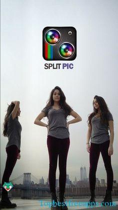 split pic clone yourself iphone app