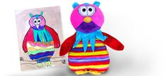 cool stuff to buy, budsies, a custom teddy created from a drawing or photograph #bestgiftever - MrMinds