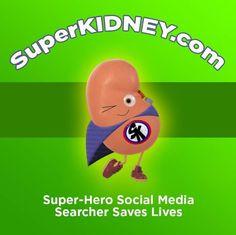 SuperKidney is a Non-Profit Organization dedicated to Transform. Kidney Donor, Non Profit, Medium, Social Media, Superhero, Health, Campaign, Life, Content