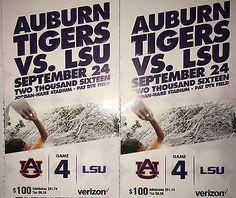 #tickets Auburn vs LSU Football Lower Level Tigers Unlimited Season Tickets please retweet