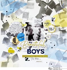 Paper Fab: Two Layouts Using The Indigo Hills Collection *Pinkfresh Studio*