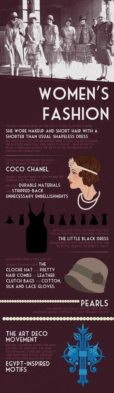 @Dixie Currey Get the great gatsby fashion look…good to know cause I'm going to a banquet with this theme!