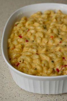 Spicy Mac and Cheese - I was just talking with a co-worker about something like this today.