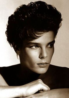 Stephanie of Monaco, youngest daughter of Princess Grace.