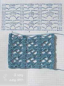 Watch This Video Beauteous Finished Make Crochet Look Like Knitting (the Waistcoat Stitch) Ideas. Amazing Make Crochet Look Like Knitting (the Waistcoat Stitch) Ideas. Crochet Edging Tutorial, Crochet Edging Patterns, Crochet Motifs, Crochet Borders, Crochet Diagram, Tunisian Crochet, Crochet Chart, Easy Crochet, Crochet Baby