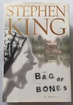 Bag Of Bones By Stephen King First Edition 1st Printing 1998 Hardcover Book