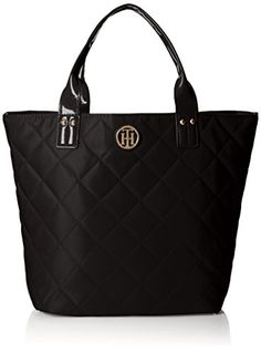 Tommy Hilfiger Quilted Shopper With Pouch Shoulder Bag - http://bags.bloggor.org/tommy-hilfiger-quilted-shopper-with-pouch-shoulder-bag/