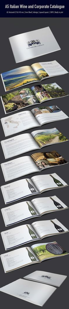 Italian Wine and Corporate Catalogue  This item is available for sale on Envato MarketPlace http://graphicriver.net/item/a5-italian-wine-and-corporate-catalogue/7420814?WT.ac=portfolio&WT.z_author=Webnovo