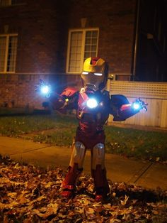 Super Awesome DIY Halloween Costumes for Kids to Make – Iron Man