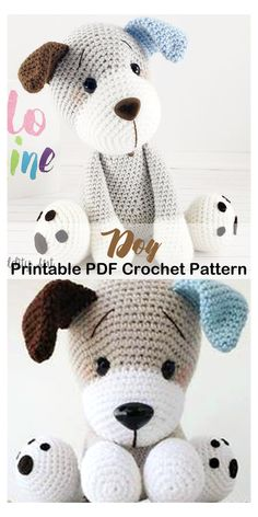 11 Amigurumi Dog Crochet Patterns – Cute Puppies #crochet #animal #patterns #amigurumi Looking for Amigurumi Dog Crochet Patterns? There are lots of cute puppy patterns to try. There are amigurumi tips too for beginners.