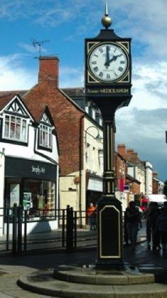 Whitchurch Shropshire, England