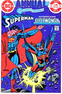 DC Comics Presents Annual vol 1 #2   Cover art by Gil Kane