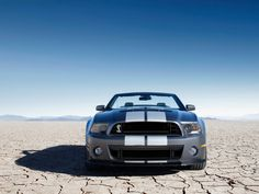 Deserted Ford shelby GT!