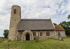 All Saints, Edingthorpe, Norfolk, England. 12thC-14thC