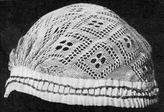 FolkCostume&Embroidery: Kykai, netted or sprang caps of Lithuania and crocheted descendants