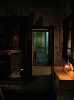 1937 旧坂出警察署 留置場 夜 2007 香川 坂出