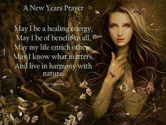 A New Years Prayer