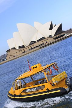 A boat taxi ride in Sydney - Australia - was on one of these in the harbour as well....really cool.....the ferrys were as well!
