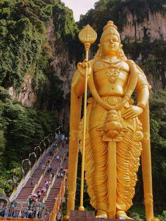 Explore the Batu Caves, KL.