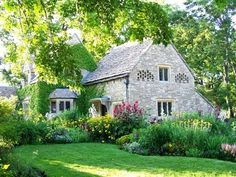 Houses Nice Cottage Home Beautiful House Flowers Grass Sunshine Doors Trees Nature Architecture Yard Forest Country Window Green Free Desktop Background ~ Houses for HD High Definition Wide Widescreen WUXGA WXGA WGA Standard Stone Cottages, Cabins And Cottages, Stone Houses, Cotswold Cottages, English Country Cottages, English Country Gardens, English Countryside, English Cottage Interiors, Cute Cottage