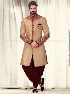 Cream-Meena-Brocade-Designer-Indo-Western-IN181