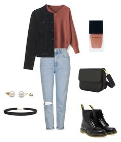 Casual by indiebitch on Polyvore featuring polyvore, fashion, style, Calvin Klein Jeans, Topshop, Dr. Martens, Humble Chic, Witchery and clothing