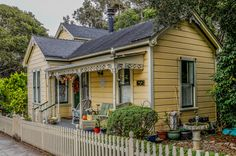 California Historical Houses -- Monterey County -- Pacific Grove