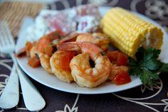 Barbecued Shrimp Scampi