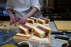 Wagyu Beef Sandwiches From Shima Steak Sandwich in Tokyo [1200 x 802] [OS] : FoodPorn