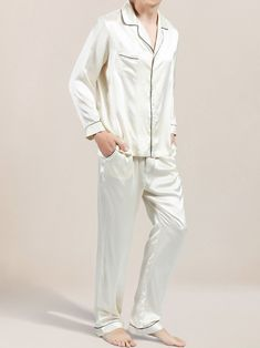 What is so special about silk pajamas. Why bother to buy them, cotton pajamas will serve the same purpose? Here's a few reasons to owning a pair of silk pajamas Pajamas For Teens, Best Pajamas, Cute Pajamas, Comfy Pajamas, Matching Pajamas, Mens Silk Pajamas, Satin Pajamas, Mens Pjs, Mens Sleepwear