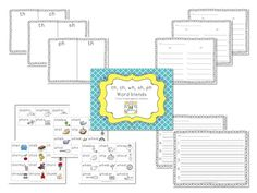 word blend activity - hands on! $