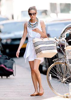 Trendwatch // 10 Ways to Wear a White Shirtdress